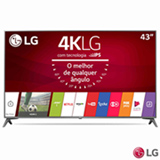 "Smart TV 4K LG LED 43"" com webOS 3.5, Ultra Surround e Wi-Fi - 43UJ6565"