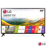 "Smart TV LG LED Full HD 49"" com Time Machine Ready, webOS 3.5, Quick Access e Wi-Fi - 49LJ5550"