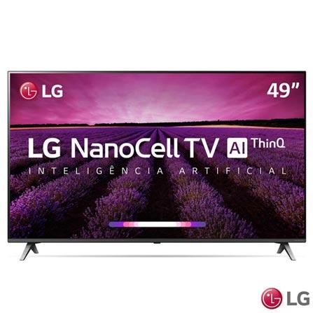 "Tv 49"" Nanocell LG 4k - Ultra Hd Smart - 49sm8000"