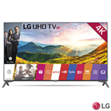 "Smart TV 4K LG LED 49"" Upscaler 4K, Ultra Luminância, Controle Smart Magic e Wi-Fi - 49UJ7500"