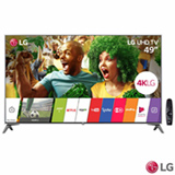 "Smart TV 4K LG LED 49"" Nano Cell™ Display, webOS 3.5, Harman/kardon, Controle Smart Magic - 49UJ7500"