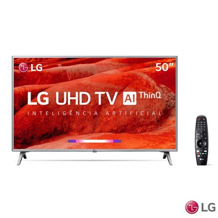 """Tv 50"""" Led LG 4k - Ultra Hd Smart - 50um7500"""