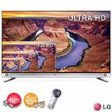 """Smart TV 3D LED 4K LG 55"""" Ultra HD com Wi-Fi, Controle Smart Magic e 4 Oculos 3D e 2 Oculos Dual Play Inclusos"""