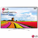"Smart TV 4K UHD LED LG 55"" com WebOs 3.5, Controle Smart Magic e Wi-Fi - 55SJ9500"