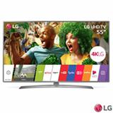 """Smart TV 4K LG LED 55"""" com Upscaler 4K, HDR, Painel IPS 4K e Wi-Fi - 55UJ6585"""