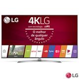 "Smart TV 4K LG LED 55"" Upscaler 4K, Ultra Luminância, Controle Smart Magic e Wi-Fi - 55UJ7500"