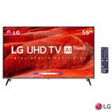 Smart TV UHD 4K LG LED 55' com Google Assistant, Home Dashboard e Wi-Fi - 55UM7520PSB