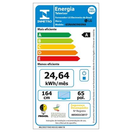 , Bivolt, Bivolt, Não se aplica, Não, 60 Hz, 12 meses, 8K, Sim, De 50'' a 65'', 65'', LED