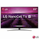 Smart TV NanoCell 4K LG LED 65' com WebOS 4.5, Controle Smart Magic e Wi-Fi - 65SM8100PSA