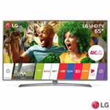 "Smart TV 4K LG LED 65"" com Upscaler 4K, HDR, Painel IPS 4K, Local Dimming e Wi-Fi - 65UJ6585"