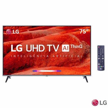 """Tv 75"""" Led LG 4k - Ultra Hd Smart - 75um7510"""