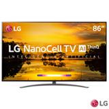 Smart TV NanoCell 4K LG LED 86' com Dolby Atmos®, 4K Cinema HDR e Wi-Fi - 86SM9070PSA