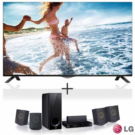 "Smart TV 4K LED LG 42"", Controle Magic Control, Wi-Fi - 42UB8200 + Home Theater LG, 5.1 Canais e 1000 W - BH6730S, 0, TVs acima de 40''"
