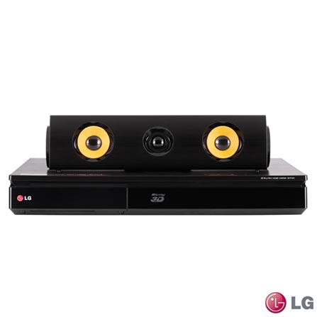 "Smart TV LED LG Full HD 49"" com Smart Share - 49LF6350 + Home Theater LG com Blu-ray 3D, 5.1 Canais - BH7540TW, 0"