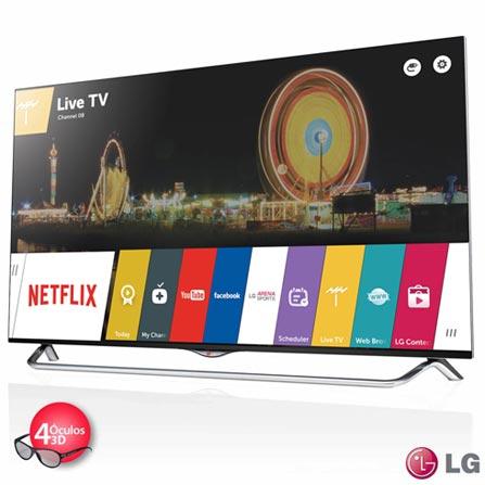 Smart TV 4K LED 3D LG 49