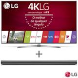 Smart TV 4K LG LED 55 Upscaler 4K, Ultra Luminancia e Wi-Fi - 55UJ7500 + Soundbar LG com 2.1 Canais e 320W - SJ5
