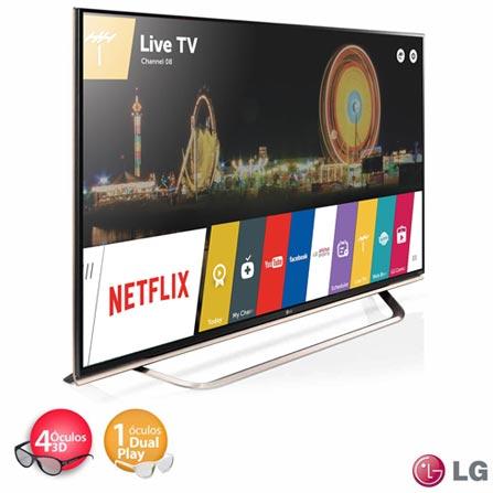"Smart TV 4K Ultra HD LED 3D LG 65"" - 65UF8500 + Home Theater Sony com Blu-ray Player 3D, 5.1 Canais - BDV-N9200WL, 0, Smart TV acima de 48''"
