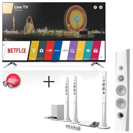 Smart TV 3D LED LG 70