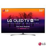 "Smart TV 4K LG OLED 55"" Ultra HD com Controle Smart Magic, WebOS 4,0, Dolby Atmos® e Wi-Fi - OLED55B8SSC"