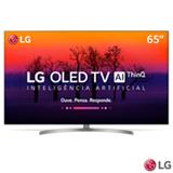"Smart TV 4K LG OLED 65"" Ultra HD com Controle Smart Magic, WebOS 4,0, Dolby Atmos® e Wi-Fi - OLED65B8SSC"