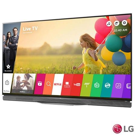 Smart TV 4K LG OLED 65 Ultra Slim, WebOS 2.0, Controle Smart Magic e Wi-Fi - OLED65E6P, Bivolt, Bivolt, Não se aplica, Sim, 120 Hz, 12 meses, 4K / UHD, Sim, De 50'' a 65'', 65'', OLED