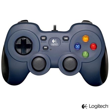 Game Pad com Fio e Entrada USB - Logitech - F310, Preto, Controles, 36 meses