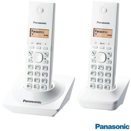 Smart TV LED Panasonic 39 Full HD, Wi-Fi embutido - TC-39AS600B + Telefone Sem Fio Panasonic DECT 6.0, Branco, 0