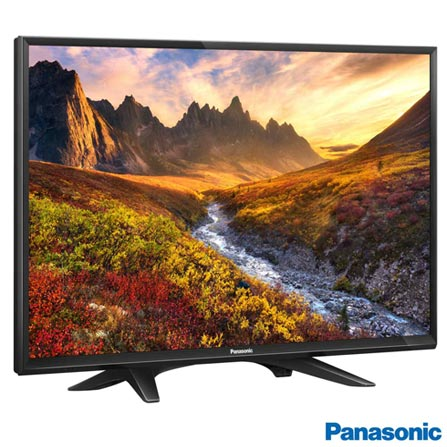 TV Panasonic LED HD 32 com Slim design e Narrow Bezel - TC-32D400B, Bivolt, Bivolt, Preto, Não, 60Hz a 240Hz BMR, 12 meses, HD, Não, De 26'' a 39'', 32'', LED