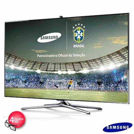 Smart TV 3D LED Samsung 55