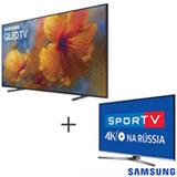 Smart TV 4K Samsung QLED 88, Tela de Pontos Quanticos - QN88Q9FAMGXZD + Smart TV 4K Samsung LED 49 - UN49KU6450GXZD