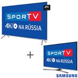 Smart TV 4K Samsung LED 65 com HDR 1000 - UN65MU7000GXZD + Smart TV 4K Samsung LED 49 com HDR Premium - UN49KU6450GXZD