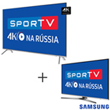 Smart TV 4K Samsung LED 75 com HDR 1000 - UN75MU7000GXZD + Smart TV 4K Samsung LED 49 com HDR Premium - UN49KU6450GXZD