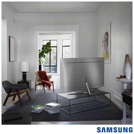 """Smart TV Samsung QLED 4K 65"""" com Modo Jogo, Connect Share™, Interação por Voz e Wi-Fi - QN65Q8CAMGXZD, Bivolt, Bivolt, Prata, Não, 240 Hz, 12 meses, 4K / UHD, Sim, 65'', De 50'' a 65'', QLED"""