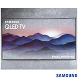 """Smart TV 4K Samsung Curva QLED 2018 UHD 65"""" com Conexão Invisível, Modo Ambiente, HDR1500 e Wi-Fi - QN65Q8CNA"""