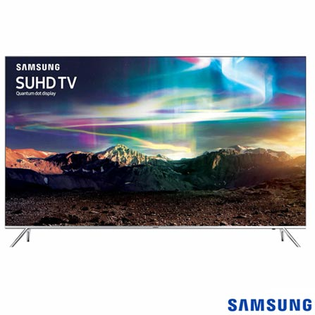 Smart TV 4K Samsung LED 49 com HDR 1000, 240 Hz Motion Rate e Wi-Fi - UN49KS7000GXZD, Bivolt, Bivolt, Não se aplica, Não, 120Hz (Motion Rate 240Hz), 12 meses, 4K / UHD, Sim, De 40'' a 49'', 49'', LED