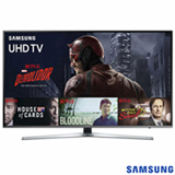"Smart TV 4K Samsung LED 49"" com Processador Quad Core, HDR Premium, 120 Hz Motion Rate e Wi-Fi - UN49KU6400GXZD"