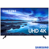 Samsung Smart TV UHD 4K 50' com Processador Crystal 4K, Controle Único, Alexa Built in e Wi - 50AU7700