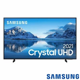 """Samsung Smart TV Crystal UHD 4K 50"""", Tela sem Limites, Visual Livre de Cabos, Alexa e Wi-Fi - 50AU8000"""