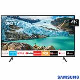 "Smart TV 4K Samsung LED 50"" com Visual Livre de Cabos, HDR Premium, Controle Remoto Único e Wi-Fi - UN50RU7100GXZD"
