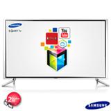 "Smart TV LED 3D Samsung Full HD 55"" com Smart Hub, Funcao Futebol e Wi-Fi - UN55F6800"
