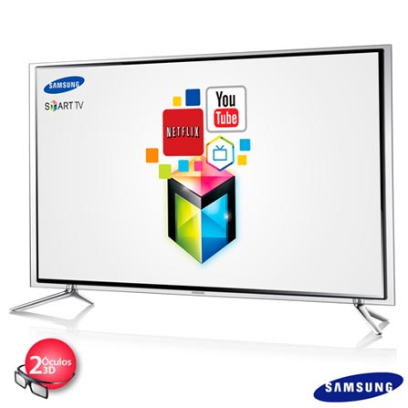Smart TV LED 3D Samsung Full HD 55