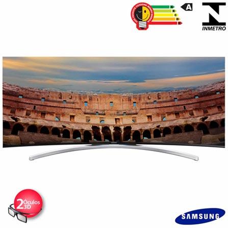 Smart TV Curva Full HD 3D Samsung 55