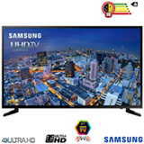 Smart TV 4K Samsung LED 55 com UHD Upscaling e Wi-Fi - UN55JU6000GXZD
