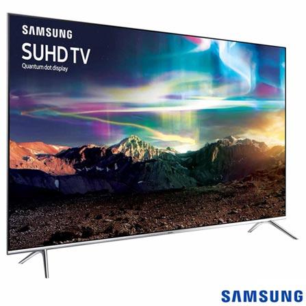 Smart TV SUHD 4K Samsung LED 55 com Pontos Quanticos, HDR 1000, 240 Hz Motion Rate e Wi-Fi -UN55KS7000GXZD, Bivolt, Bivolt, Não se aplica, Não, 120Hz (Motion Rate 240Hz), 12 meses, 4K / UHD, Sim, De 50'' a 65'', 55'', LED com Pontos Quânticos