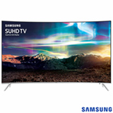 Smart TV SUHD 4K Samsung Curva LED 55 com  Pontos Quanticos, Quad-Core, 240 Hz Motion Rate e Wi-Fi - UN55KS7500GXZD