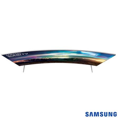 Smart TV SUHD 4K Samsung Curva LED 55 com  Pontos Quanticos, Quad-Core, 240 Hz Motion Rate e Wi-Fi - UN55KS7500GXZD, Bivolt, Bivolt, Não se aplica, Não, 120Hz (Motion Rate 240Hz), 12 meses, 4K / UHD, Sim, De 50'' a 65'', 55'', LED com Pontos Quânticos