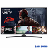 "Smart TV 4K Samsung LED 55"" com Processador Quad Core, 120 Hz Motion Rate e Wi-Fi - UN55KU6000GXZD"