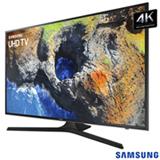 Smart TV 4K Samsung LED 55' com HDR Premium, Smart Tizen, Espelhamento de Tela e Wi-Fi - UN55MU6100GXZD