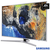 "Smart TV 4K Samsung LED 55"" com Smart Tizen e Wi-Fi - UN55MU6400GXZD"