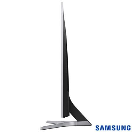 "Smart TV 4K Samsung LED 55"" com Smart Tizen e Wi-Fi - UN55MU6400GXZD, Bivolt, Bivolt, Prata, Não, 120 Hz, 12 meses, 4K / UHD, Sim, De 50'' a 65'', 55'', LED"